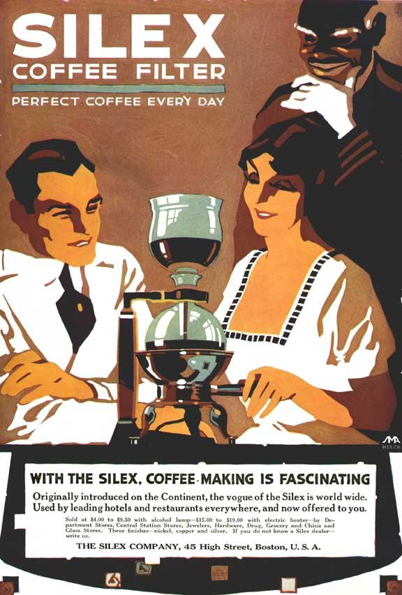 Silex Coffee Filter Ad