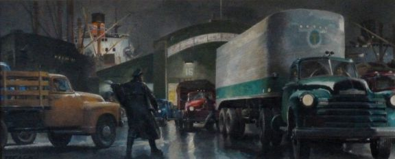 Unloading Freighters