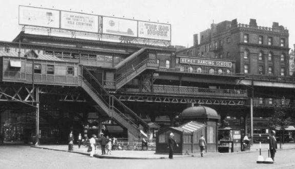66th Street Elevated Station