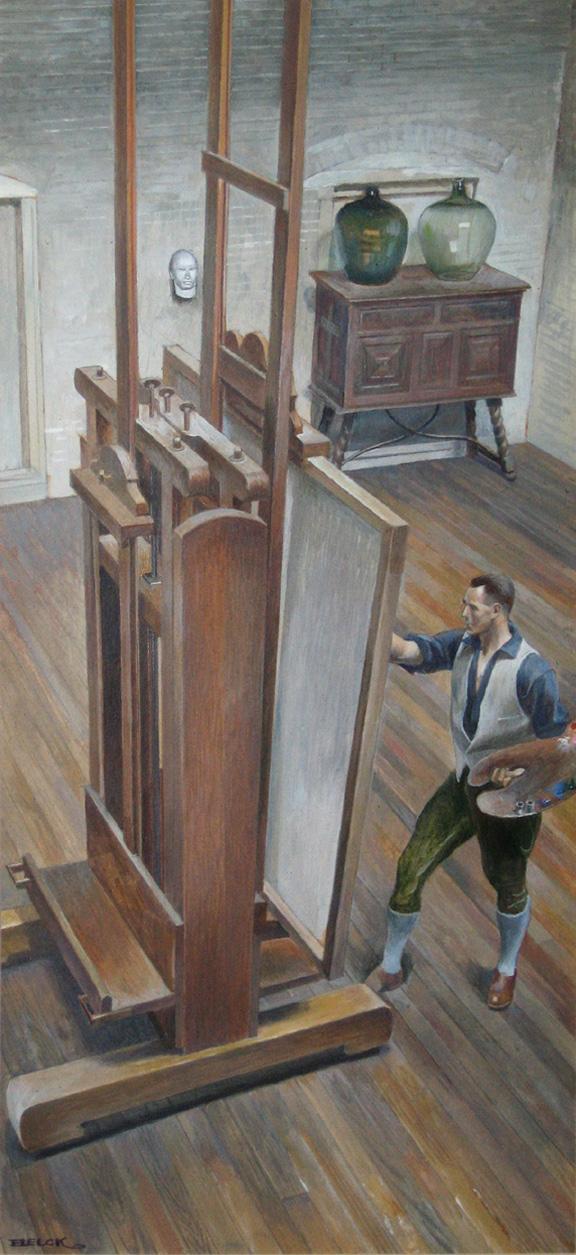 Artist in Studio (Self Portrait)