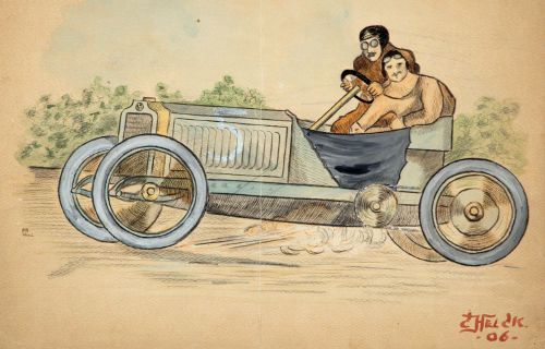 Automobilia Logonda Pre War Skyhi Car Jack No Handle