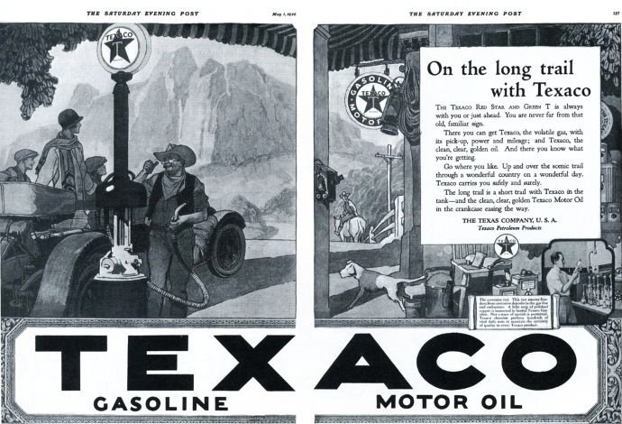 Spring Clown Vintage Art Buy One Get One Free 1940-49 Amiable Original Print Ad 1950 Texaco Company Ah..h